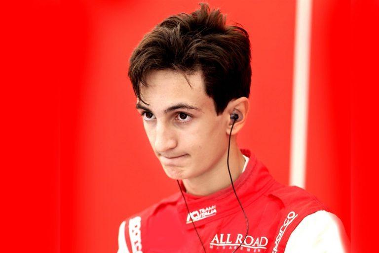 Gabriele Minì with ART Grand Prix