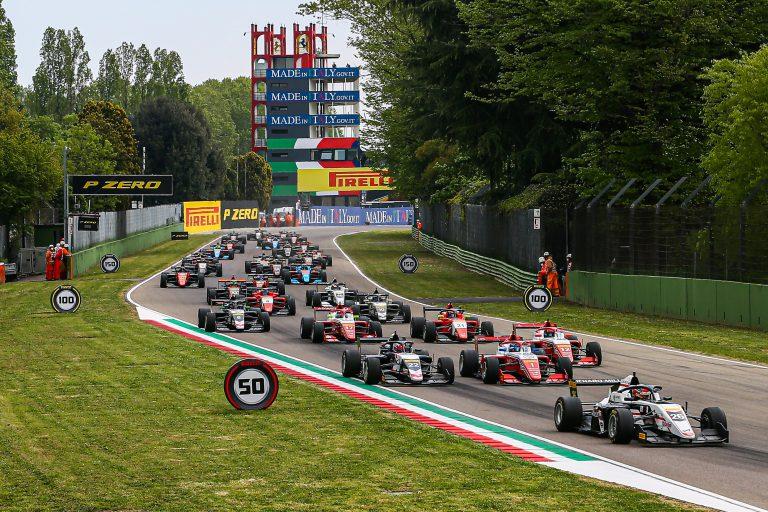 Imola, Race 2: Saucy, Aron and Maloney
