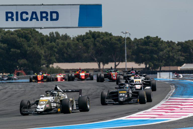 Paul Ricard, Race1 updated standings see David as the winner