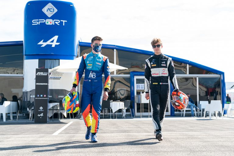 Paul Ricard, QP2: Saucy confirms, Rosso and Delli Guanti do a great job