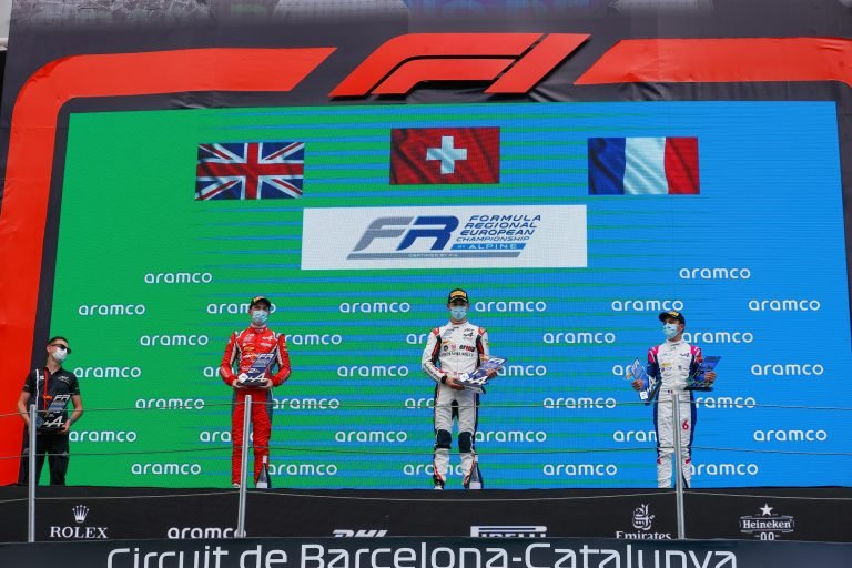 Barcelona Race 2: Saucy perfect, Quinn great, Hadjar the fastest