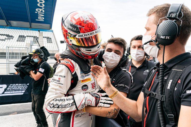 Zandvoort, Race 2 report: Saucy, Colapinto and Minì