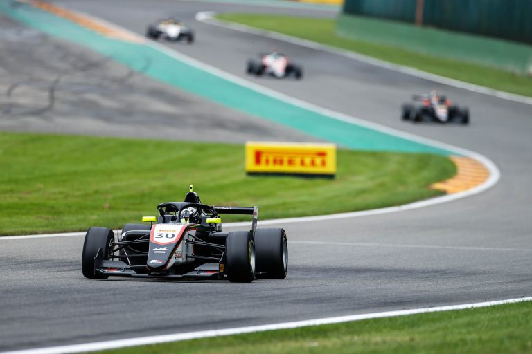 Spa-Francorchamps, QP2: Belov and Hadjar in first row