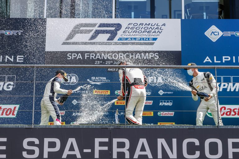 Spa-Francorchamps, Race 2 report: Saucy, Maloney and David