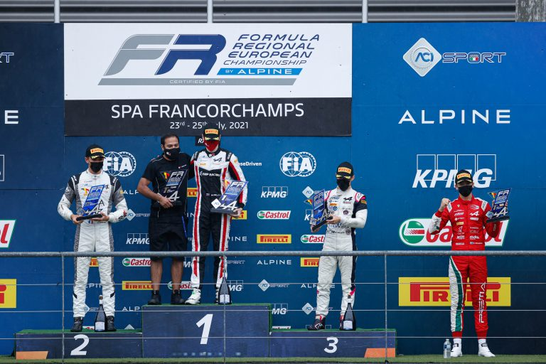 Spa-Francorchamps, Race 1: Belov wins under pouring rain