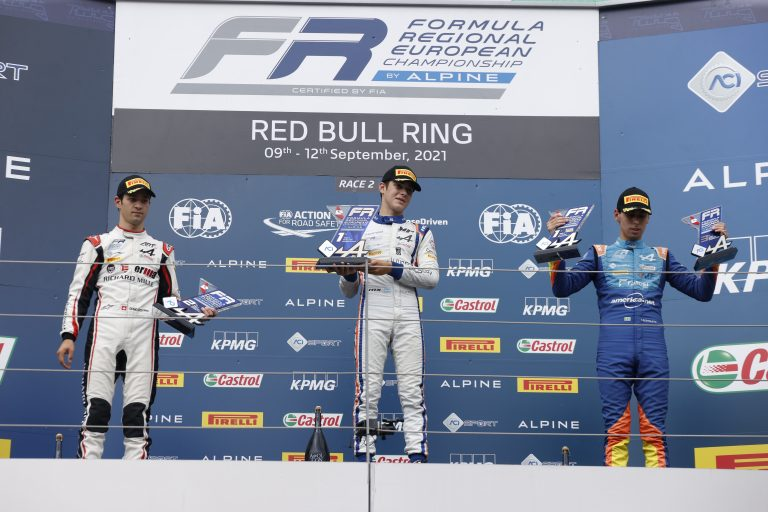 Red Bull Ring, race 2: Colapinto has his perfect weekend