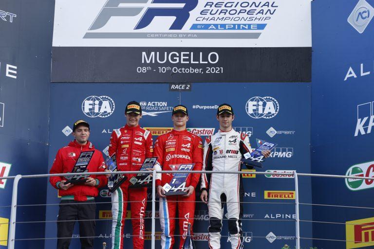Mugello, race 2: Aron closes the perfect weekend